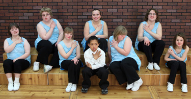 Precious Gems group photo, Northland School of Dance