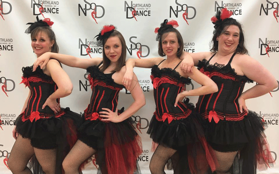 Adult Dance Classes at Northland School of Dance