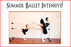 Summer Ballet Intensive, Champlin, MN