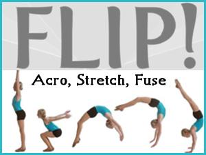 flip - Acro, Stretch, Fuse
