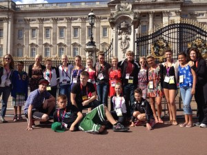 Northland Dancers at Buckingham Palace