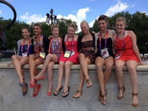 Northland Dancers at London Olympics – Days 4 and 5