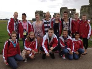 Northland Dancers Visit Stonehenge