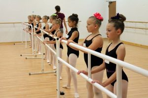Ballet Class at Summer Dance Camp