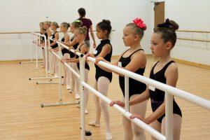 Ballet Class at Summer Dance Camp