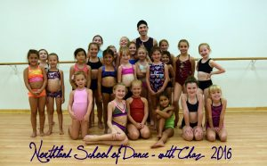 Chaz Master Class with Mini level dancers