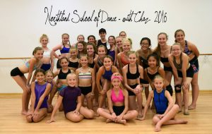 Chaz Master Class with Senior level dancers