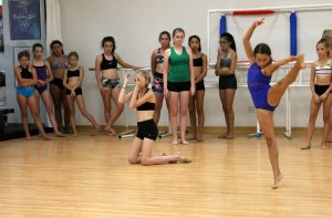 Talia's Master Class with the Junior Level at Northland School of Dance