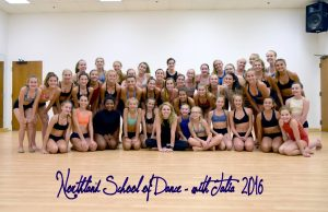 Talia teaches a Master Class with Senior level dancers at Northland School of Dance