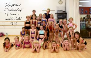Talia and Chaz teach a Master Class to the Mini's at Northland School of Dance