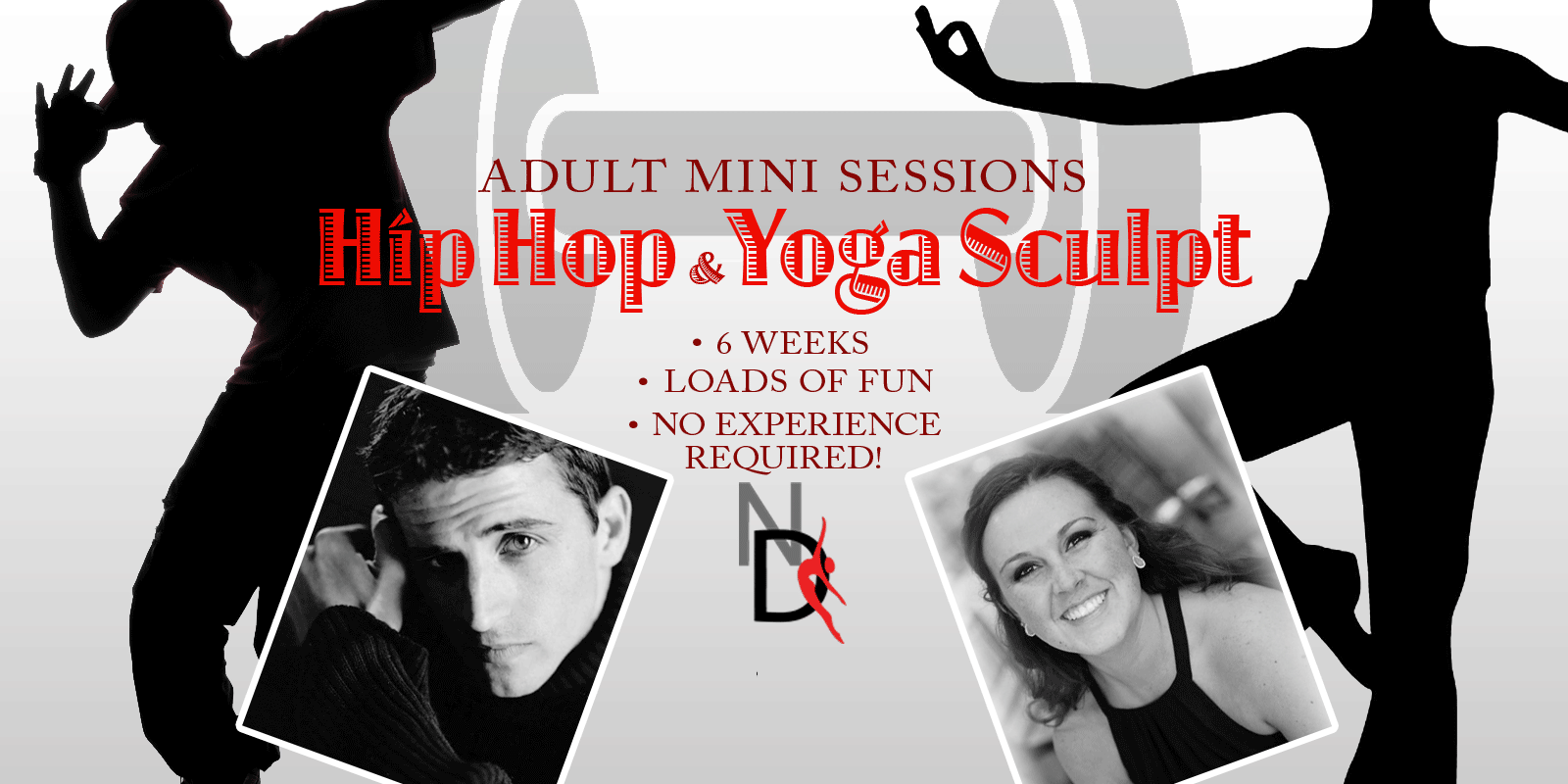 champlin dance adult mini sessions hip hop yoga sculpt