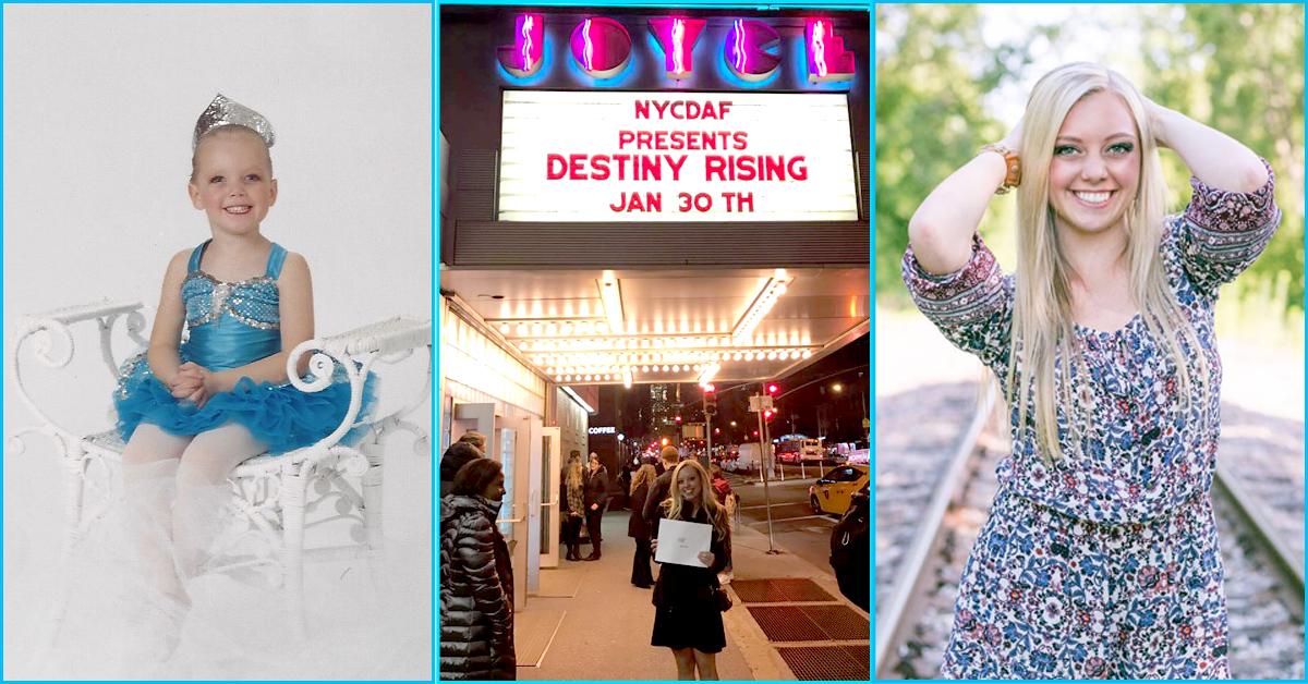 Alyssa Ulrick NYCDAF Destiny Rising Scholarship Winner 2017