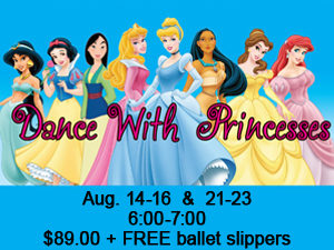 Dancing With The Princesses - 3-5yr olds @ Northland School of Dance