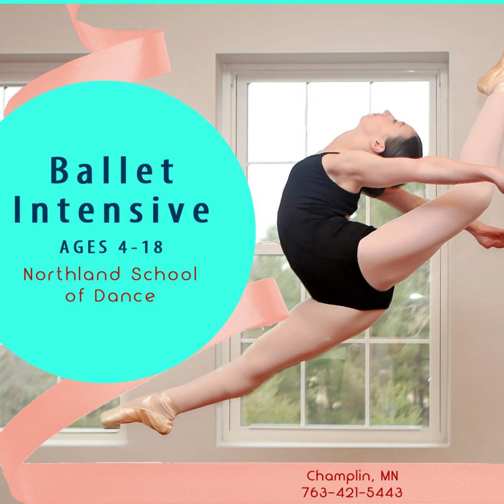Summer Ballet Champlin MN Ages 4-18 Ballet Intensive