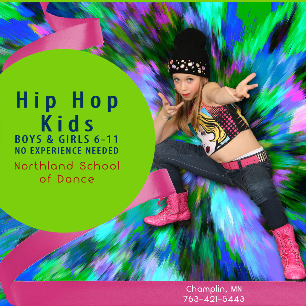 Summer Dance Champlin MN Ages 6-11 Hip Hop