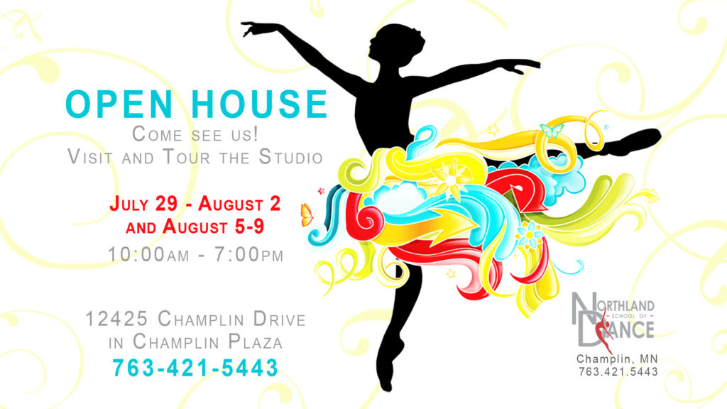 Open House at Northland School of Dance