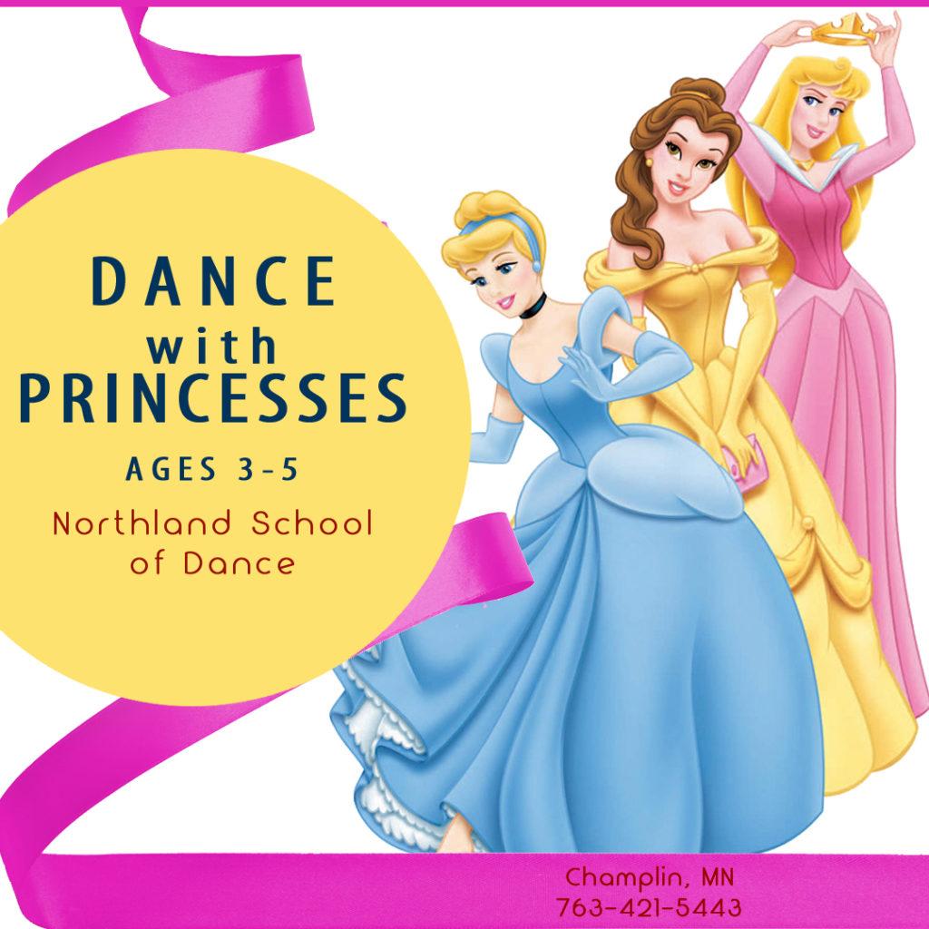 Summer Dance Champlin MN Dance with Princess age 3-5