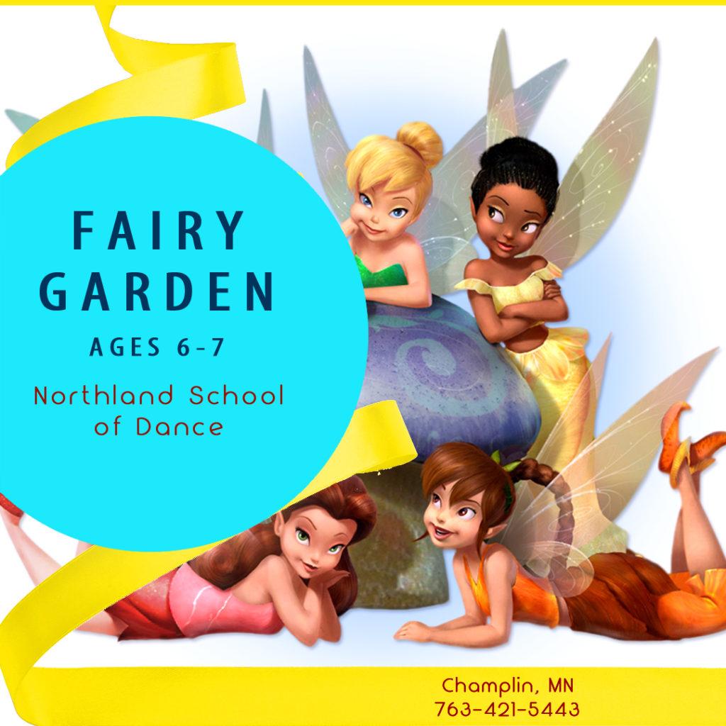 Summer Dance Champlin MN Ages 6-7 Fairy Garden