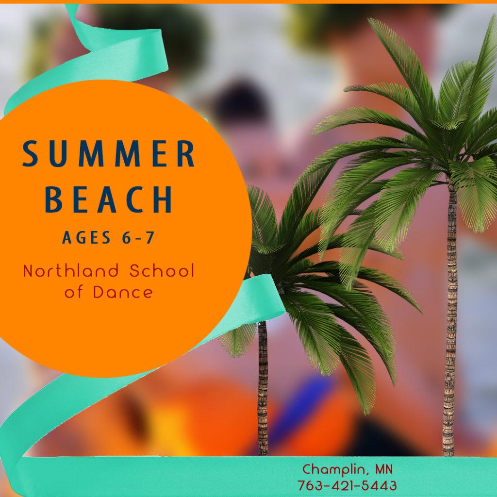 Summer Dance Champlin MN Ages 6-7 Summer Beach