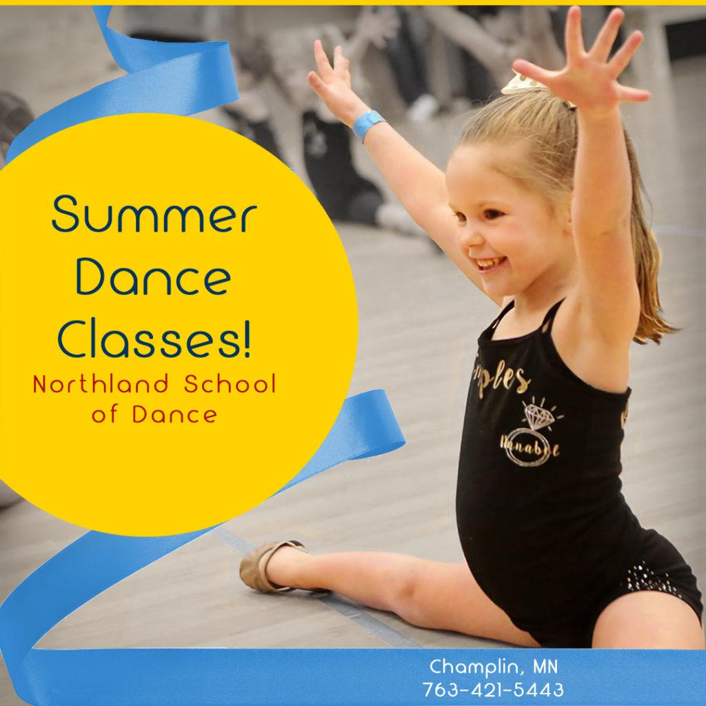Summer Dance Champlin MN Northland School of Dance