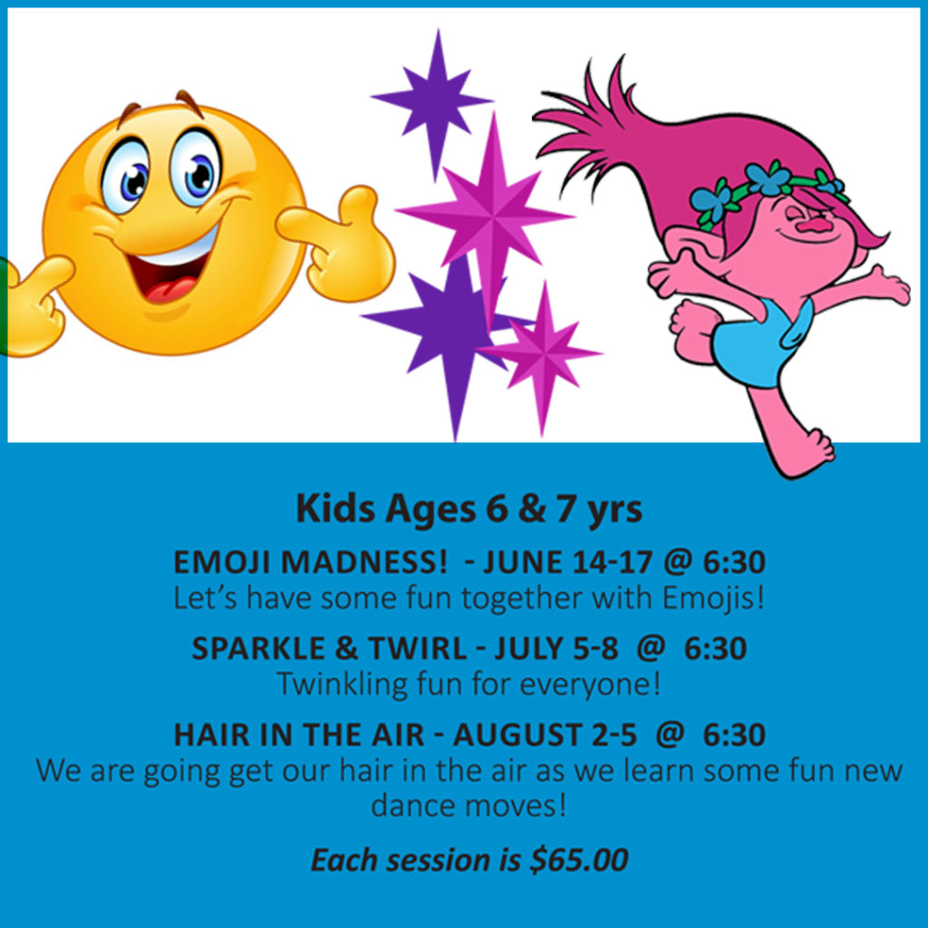 Dance classes for 6-7 year olds
